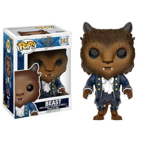 Funko Pop Disney 243 Beast Vinyl Figure