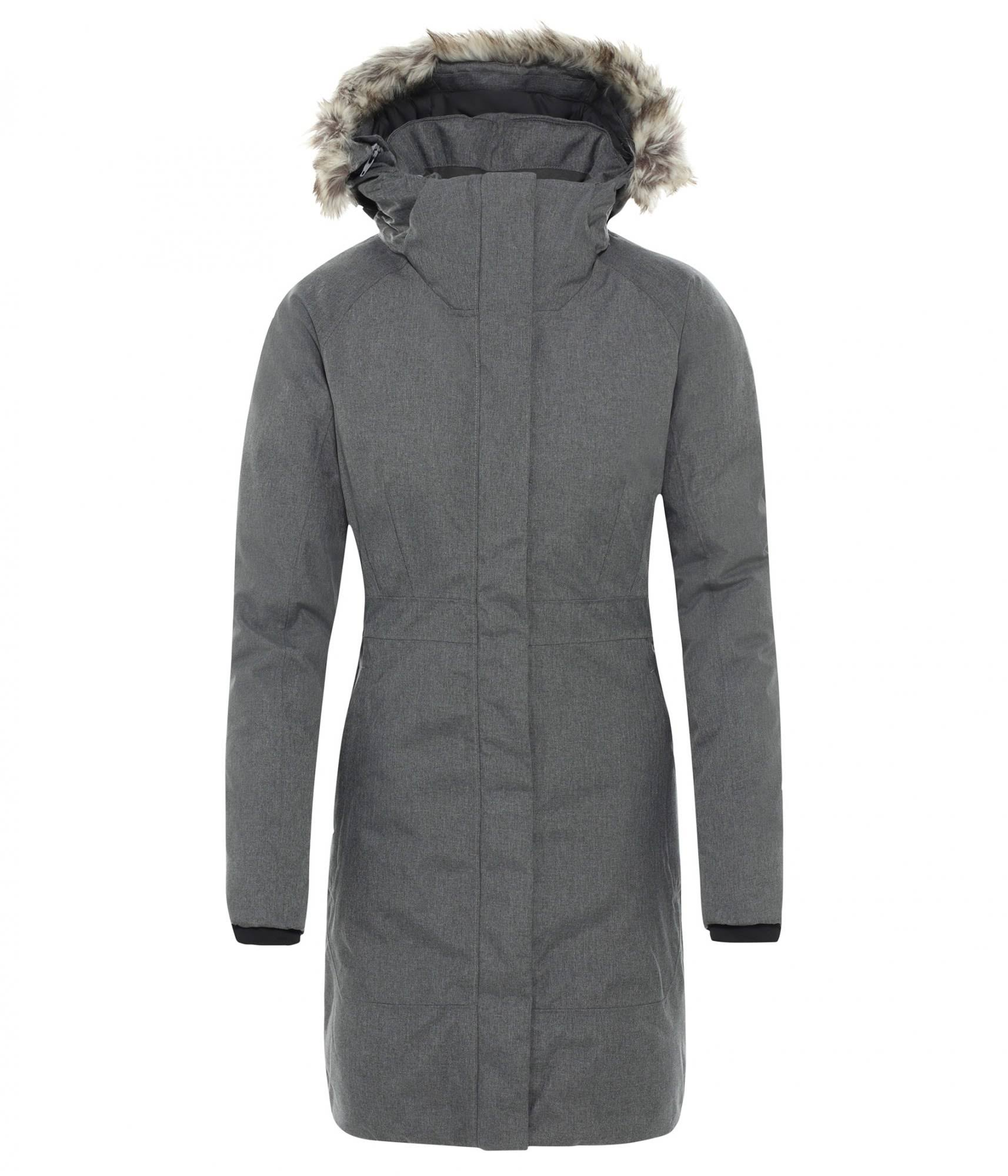 The North Face Women's Arctic Parka II (L TNF Medium Grey Heather)