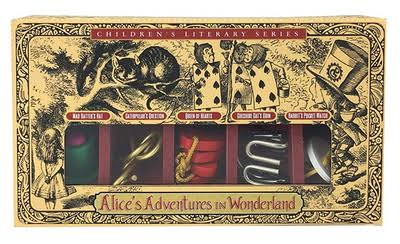 Project Genius Alice In Wonderland Puzzles Set