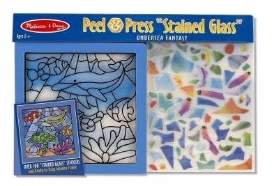 Melissa & Doug Peel-Press Stained Glass Undersea