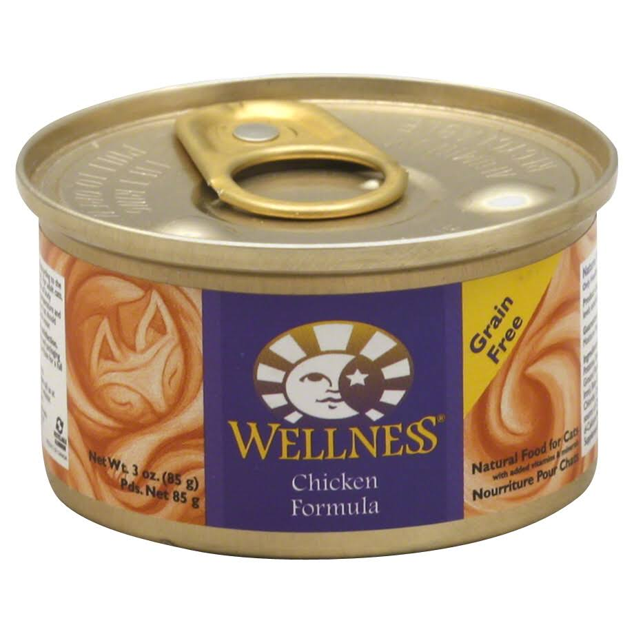 Wellness Natural Adult Cat Wet Food - Chicken, 85g