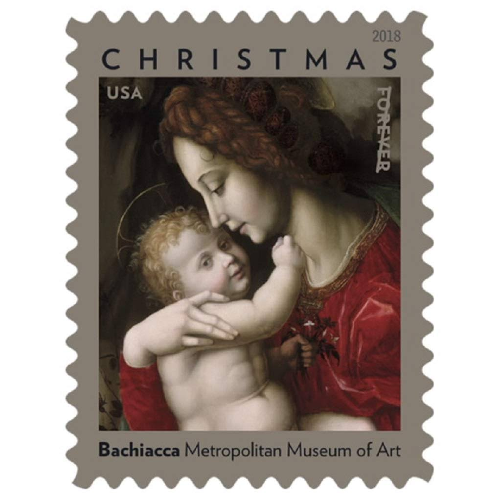 USPS 2018 Madonna and Child by Bachiacca Forever Postage Stamps (Booklet of 20)