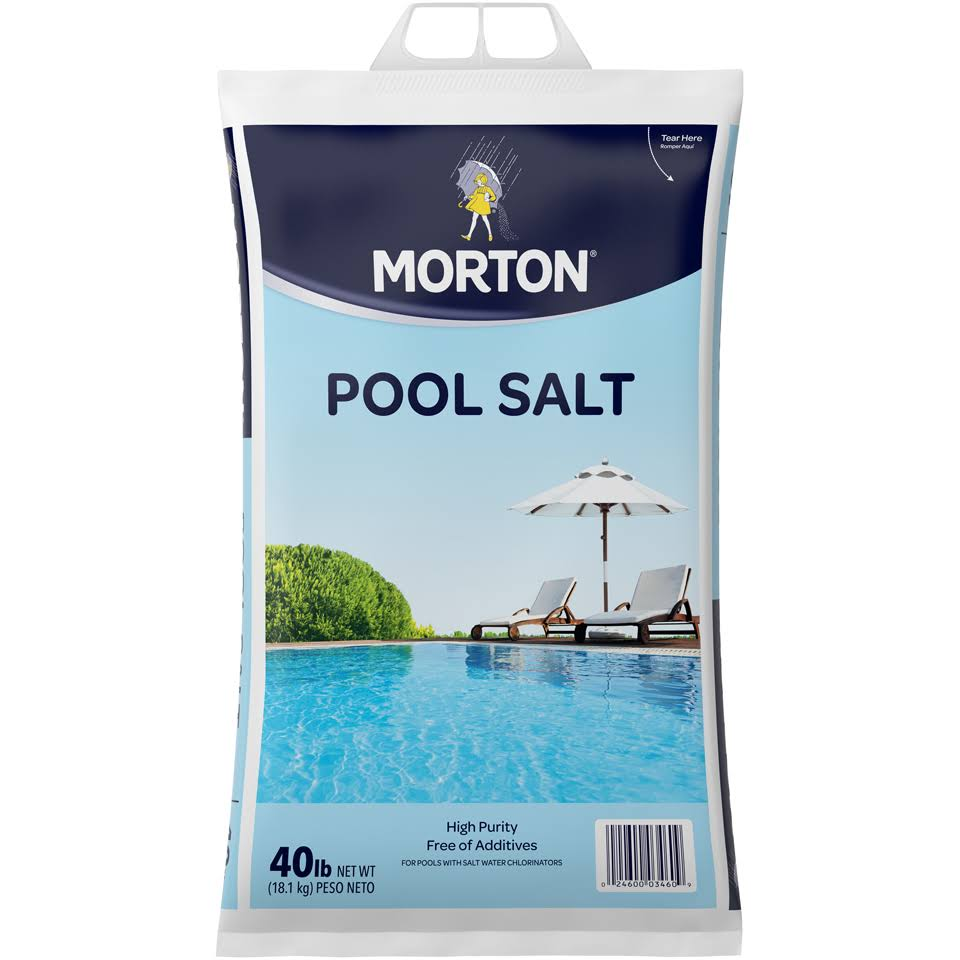 Morton Pool Salt - 40lb