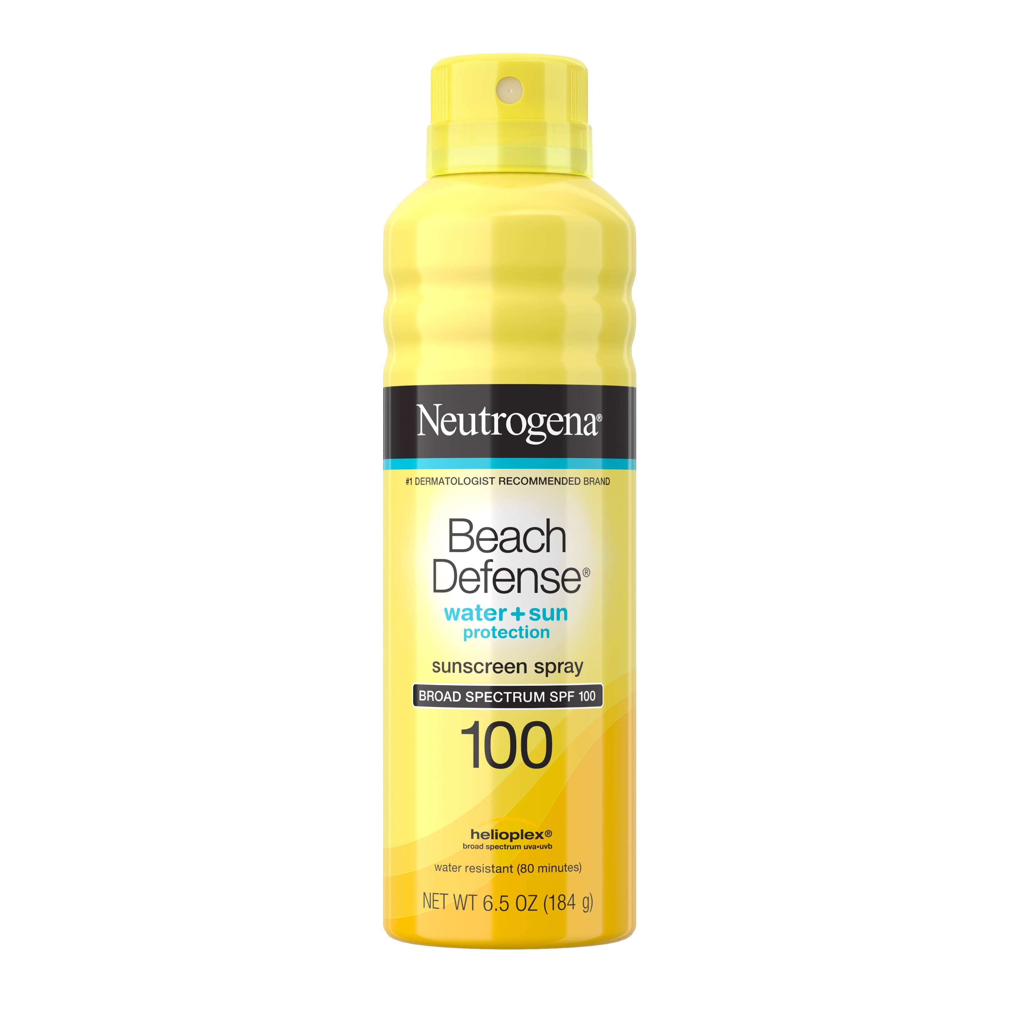 Neutrogena Beach Defense SPF100 Sunscreen Spray - 6.5oz