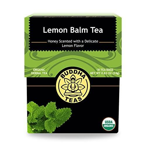 Buddha Teas Lemon Balm Tea - 18 Tea Bags