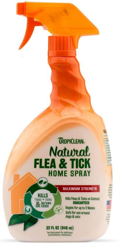 Tropiclean Natural Flea & Tick Home Spray - 32oz