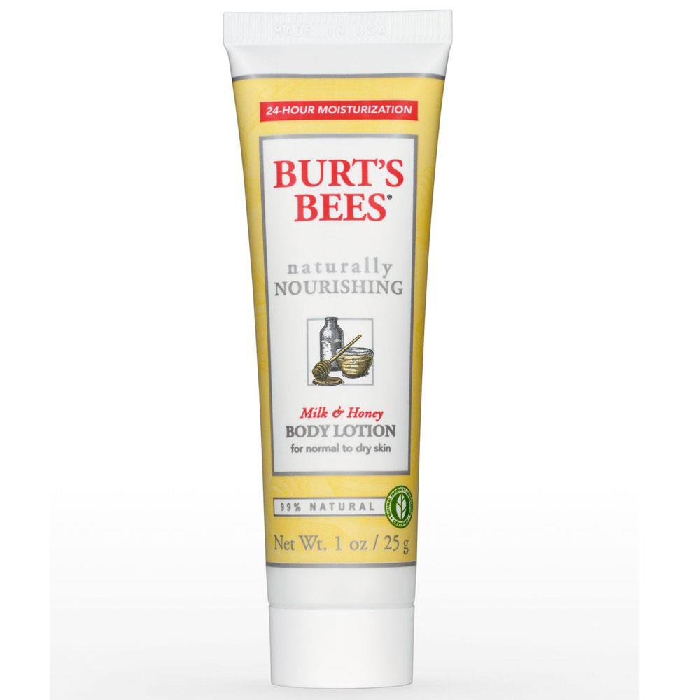 Burt's Bees Body Lotion - Milk and Honey, 170g