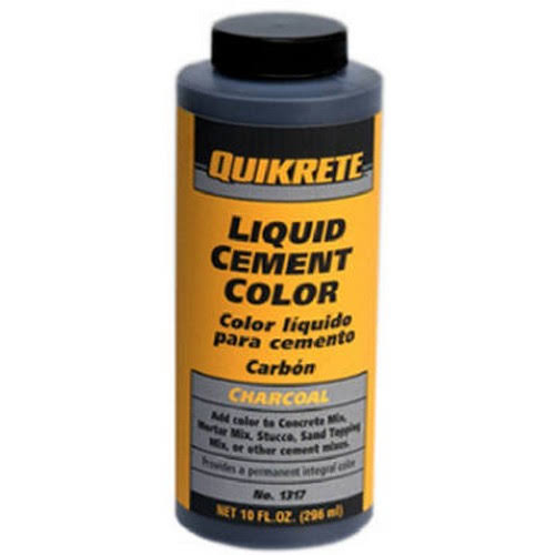Quikrete Liquid Cement Color - 10oz, Charcoal