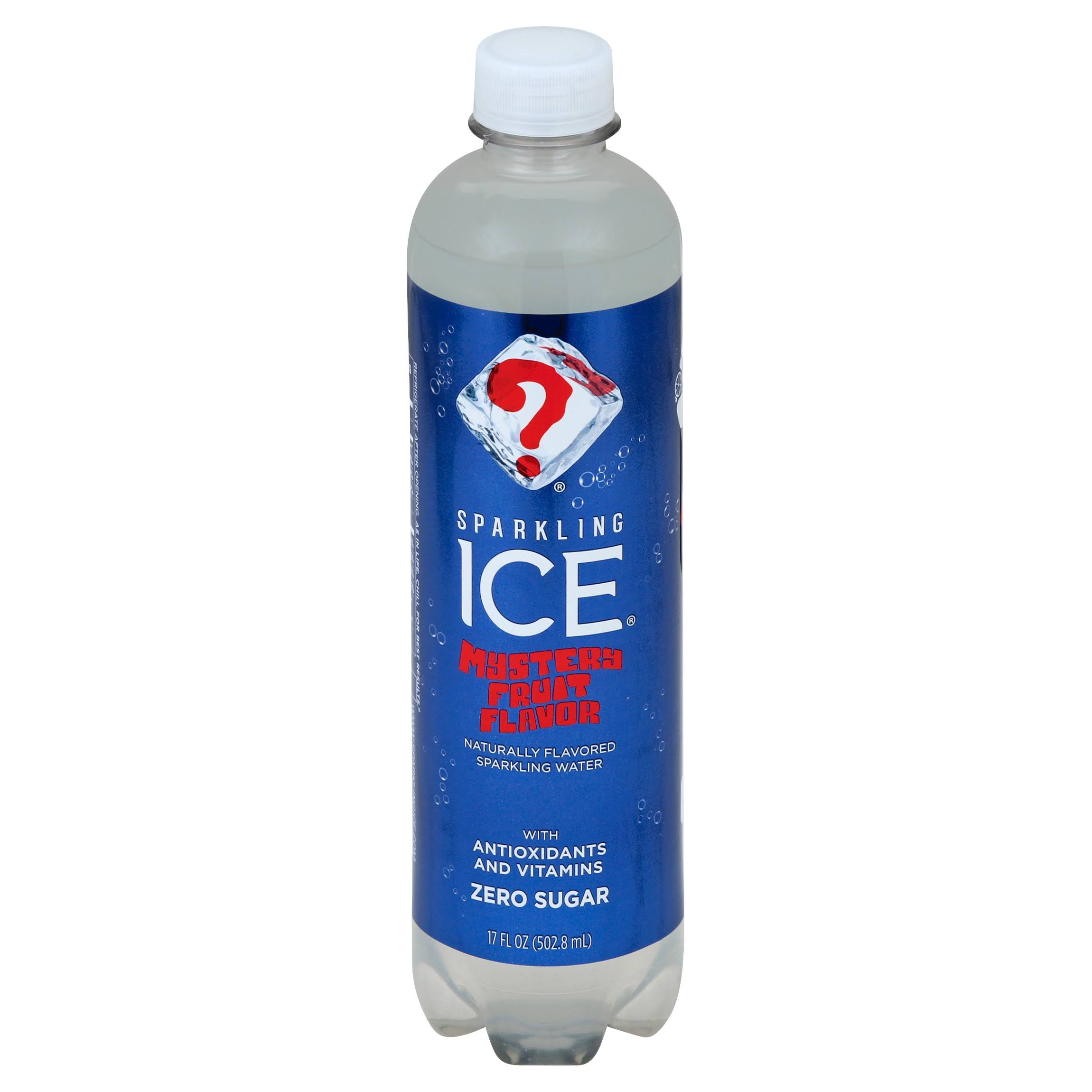 Sparkling Ice Sparkling Water, Mystery Fruit - 17 fl oz bottle