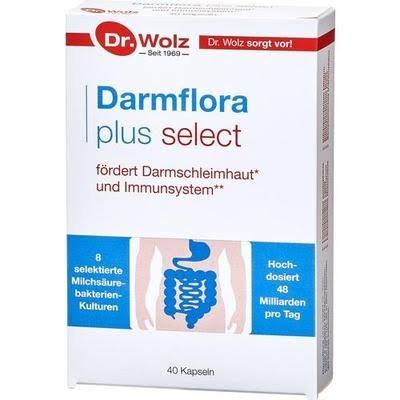 Dr. Wolz Intestinal Flora Plus Select - Probiotic made in Germany - VicNic 40 cap