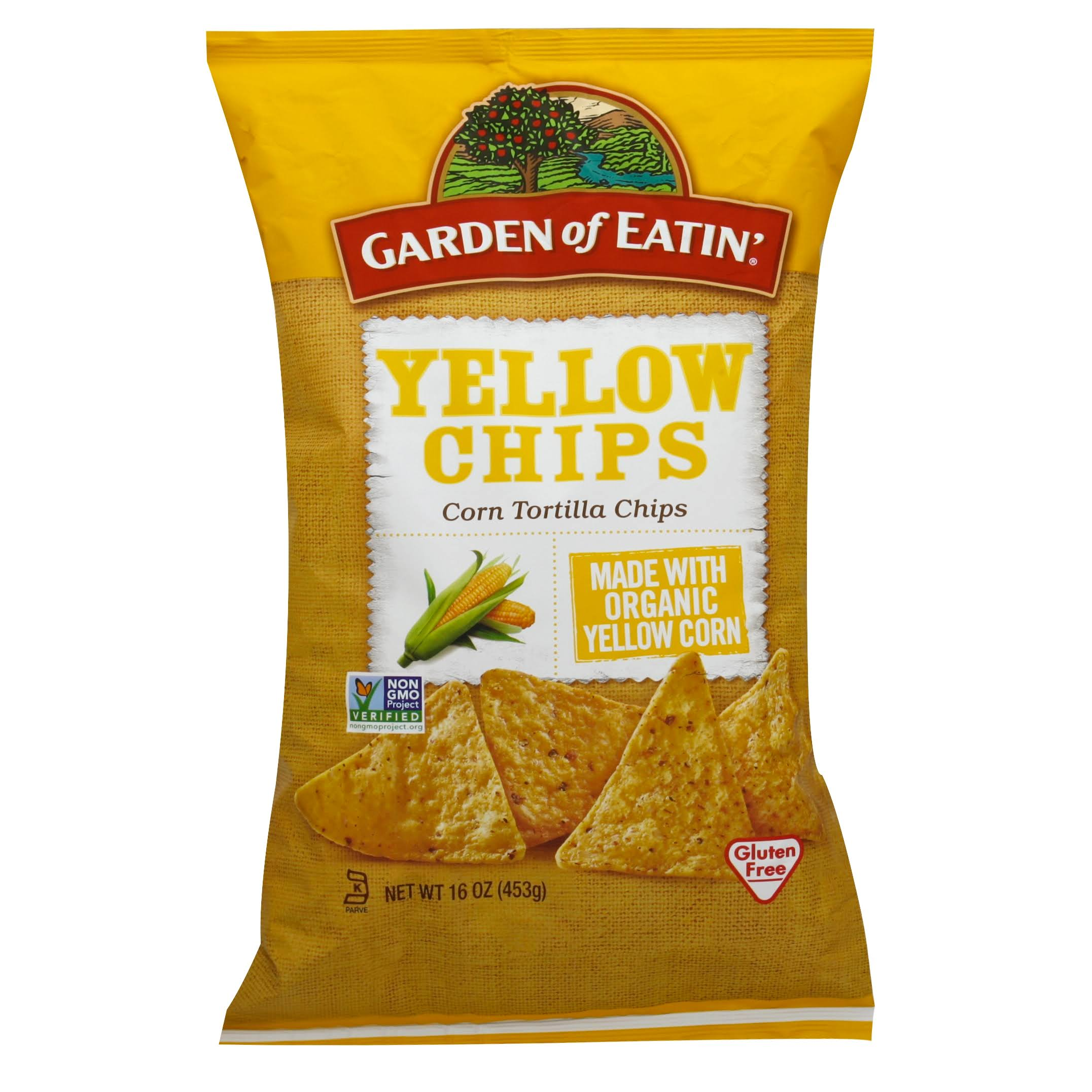 Garden of Eatin' Yellow Chips Corn Tortilla Chips - 16 oz