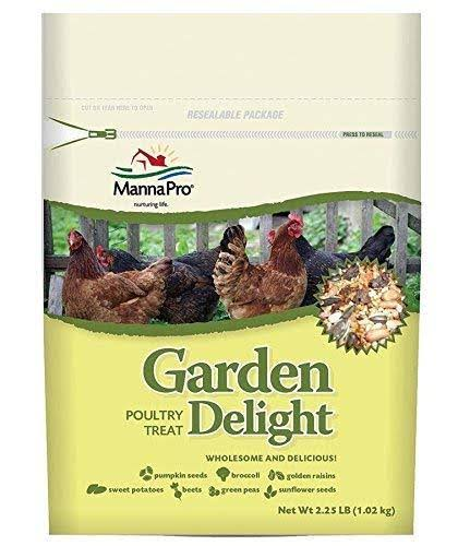 Manna Pro Garden Delight Poultry Treat - 2.25lbs