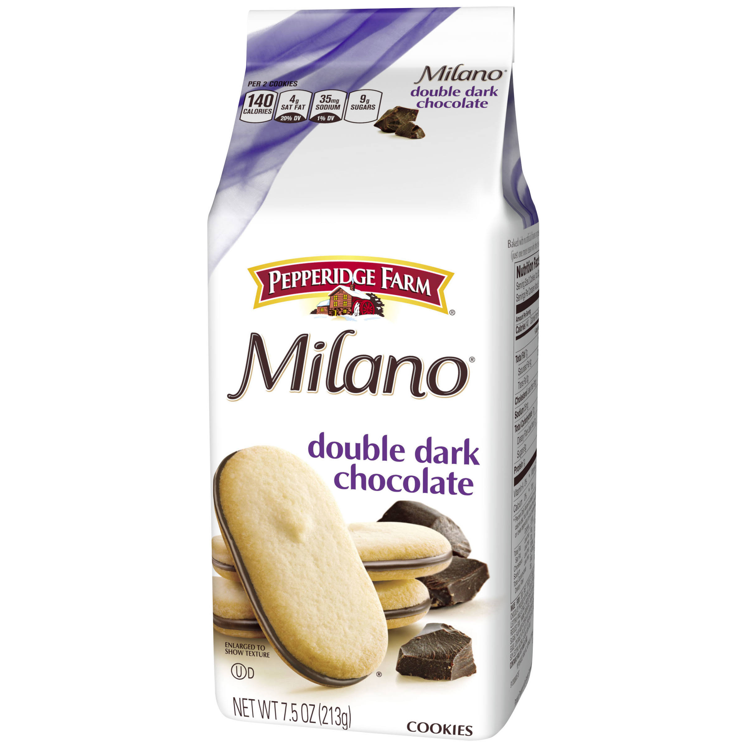 Pepperidge Farm Milano Double Chocolate Cookies - 213g