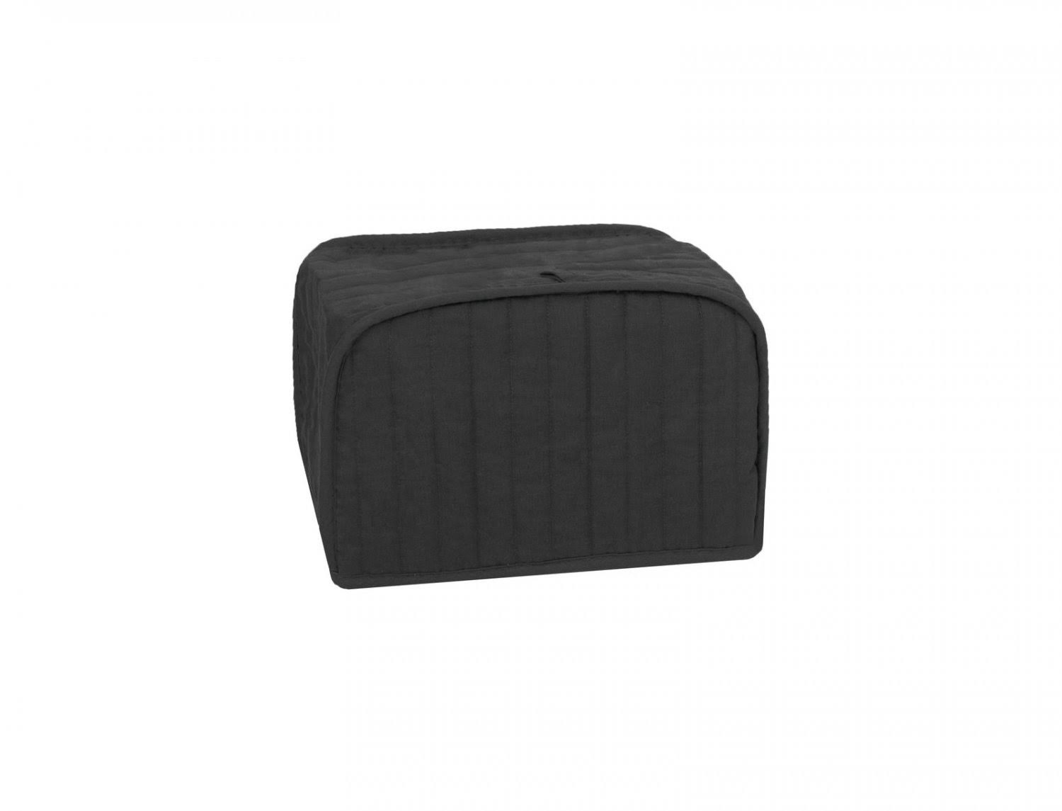 Ritz Quilted Four Slice Toaster Appliance Cover, Black