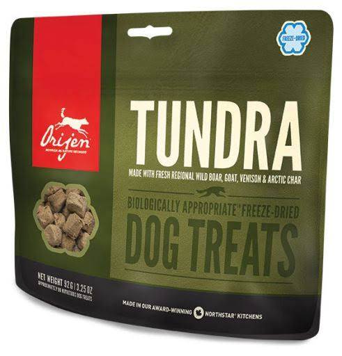 ORIJEN Freeze Dried Dog Treats, Tundra / 1.5 oz