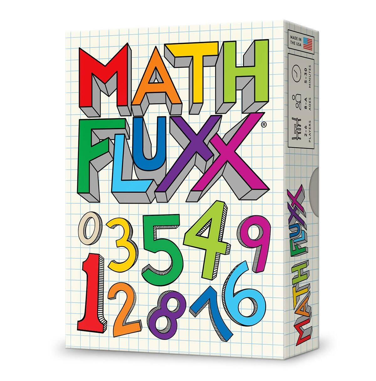 Looney Labs LOO077 Math Fluxx Multicoloured