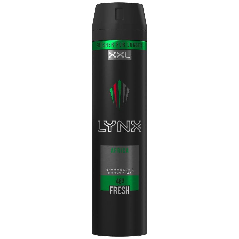 Lynx Africa Body Spray Deodorant - 250ml