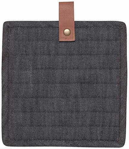 Now Designs Pot Holders - Black Denim Renew Pot Holder