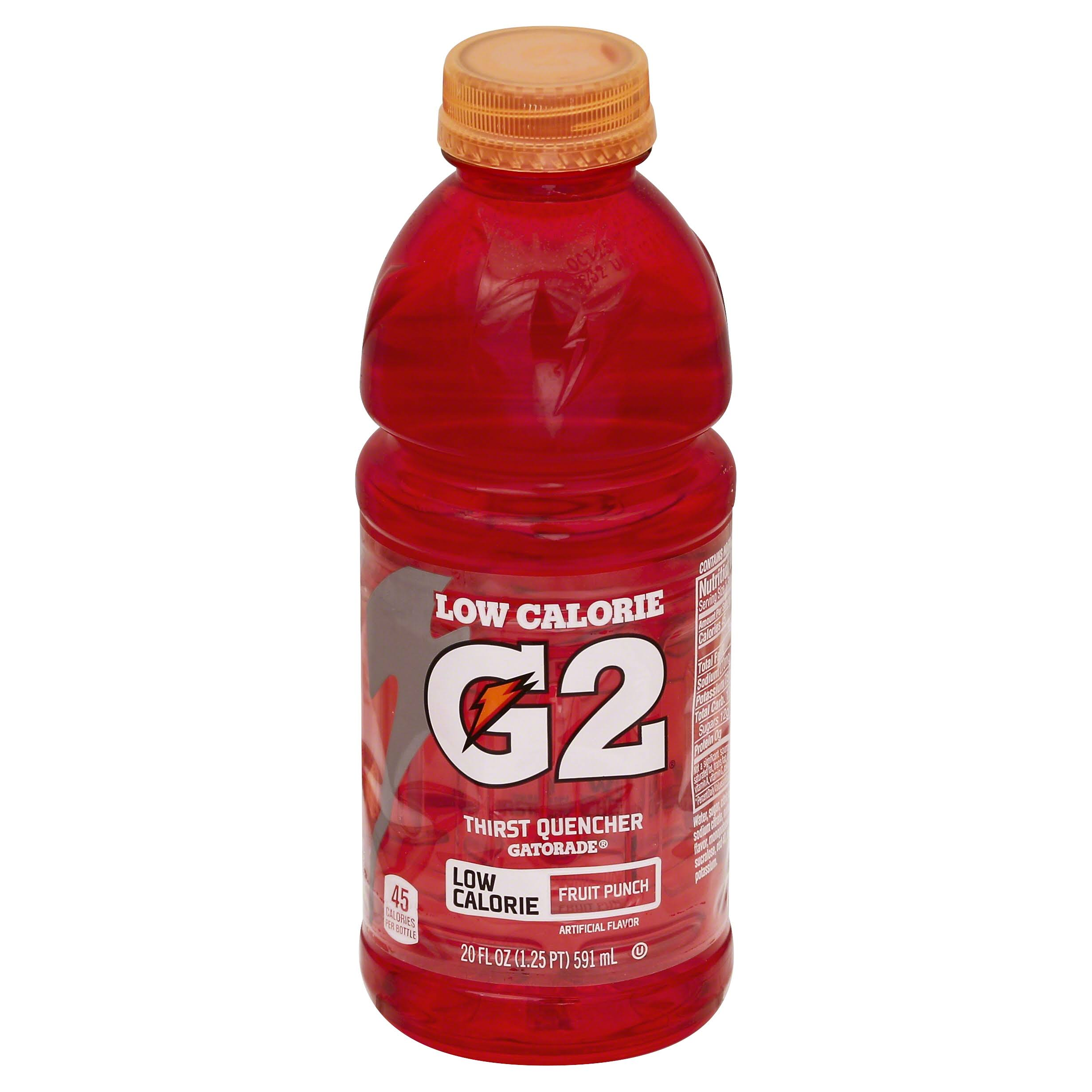 Gatorade G2 Sports Drink - 591ml, Fruit Punch
