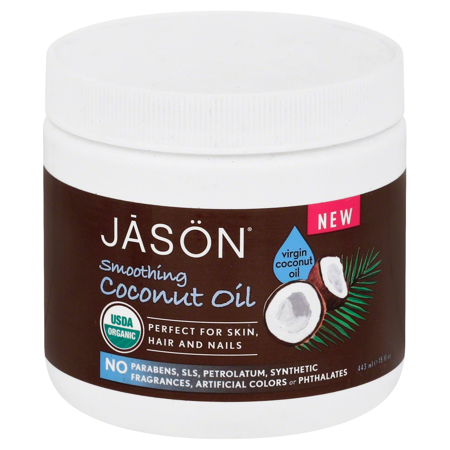 Jāsön Smoothing Virgin Coconut Oil - 15oz
