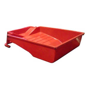Shur-Line Deep-Well Plastic Tray - 9in, Red