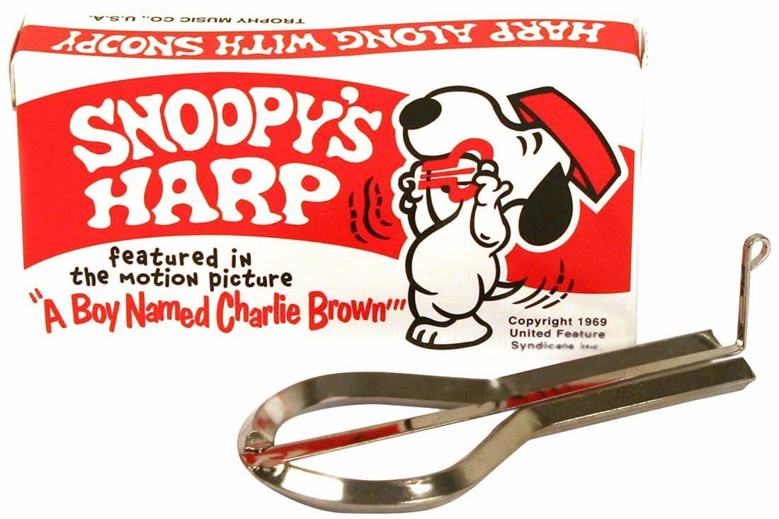 Generic Grover Snoopy Jaw Harp