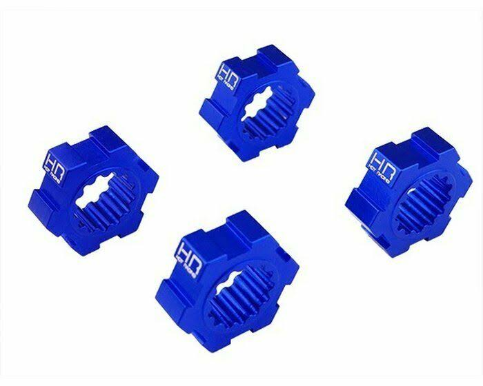 Traxxas X-Maxx Hot Racing XMX1006 Aluminum Hex Hub - Blue, 24mm