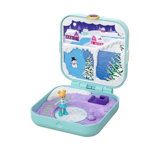Mattel Polly Pocket Frosty Fairytale Playset