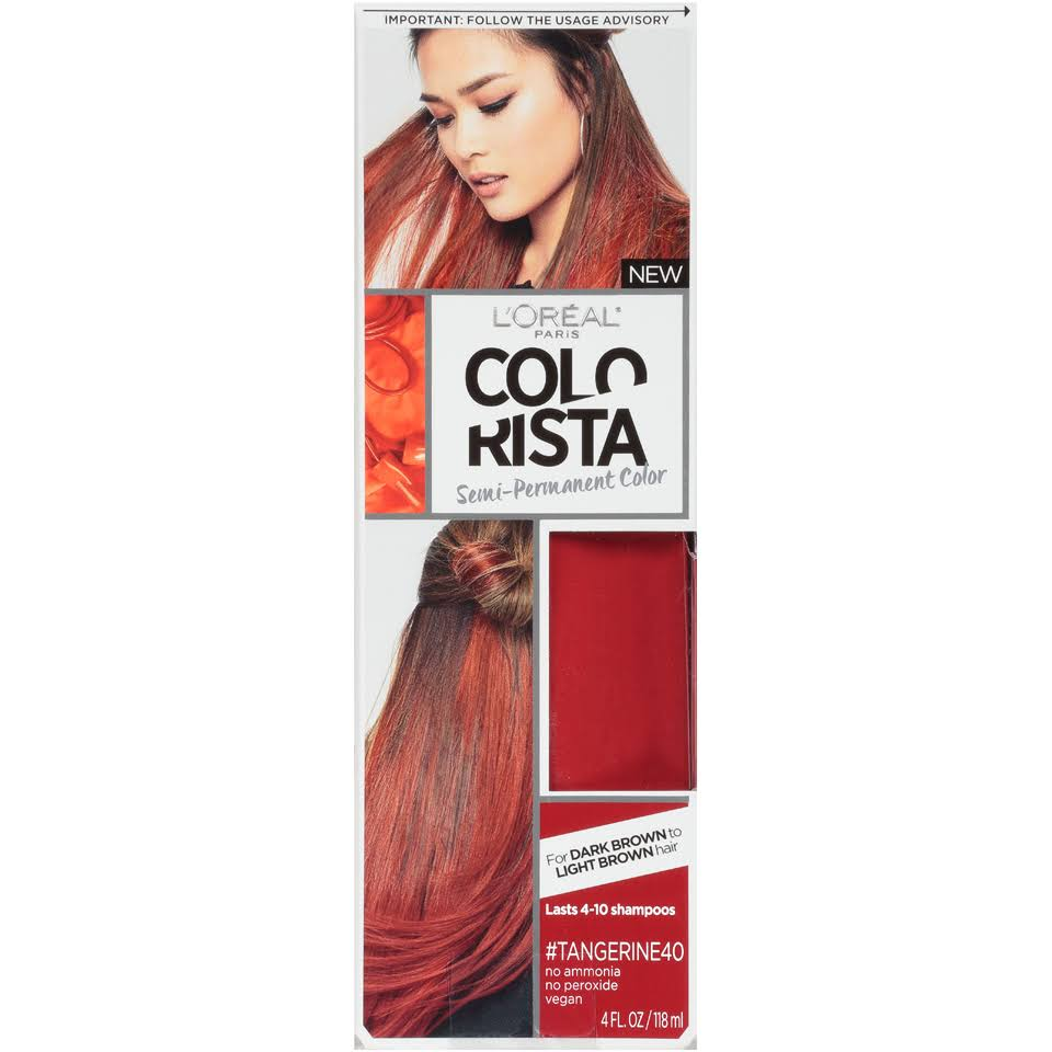 L'Oréal Paris Colorista Semi-Permanent Color - Tangerine40, 4oz