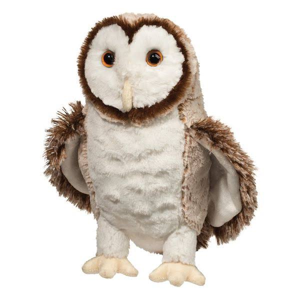 Douglas Cuddle Toys Swoop Barn Owl Stuffed Animals - 10""