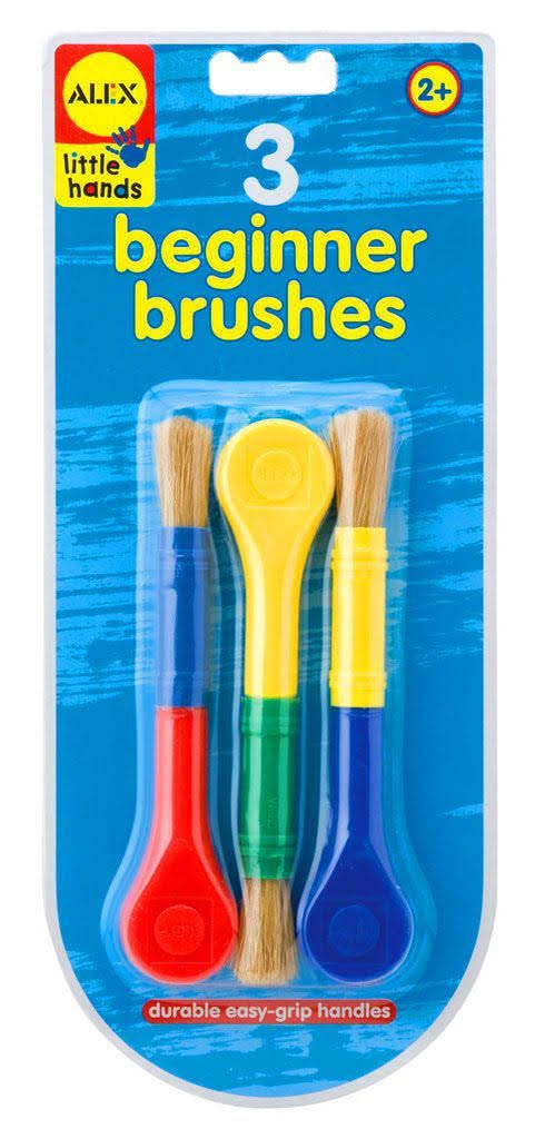 Alex Toys Little Hands Beginner Paint Brushes - Set of 3