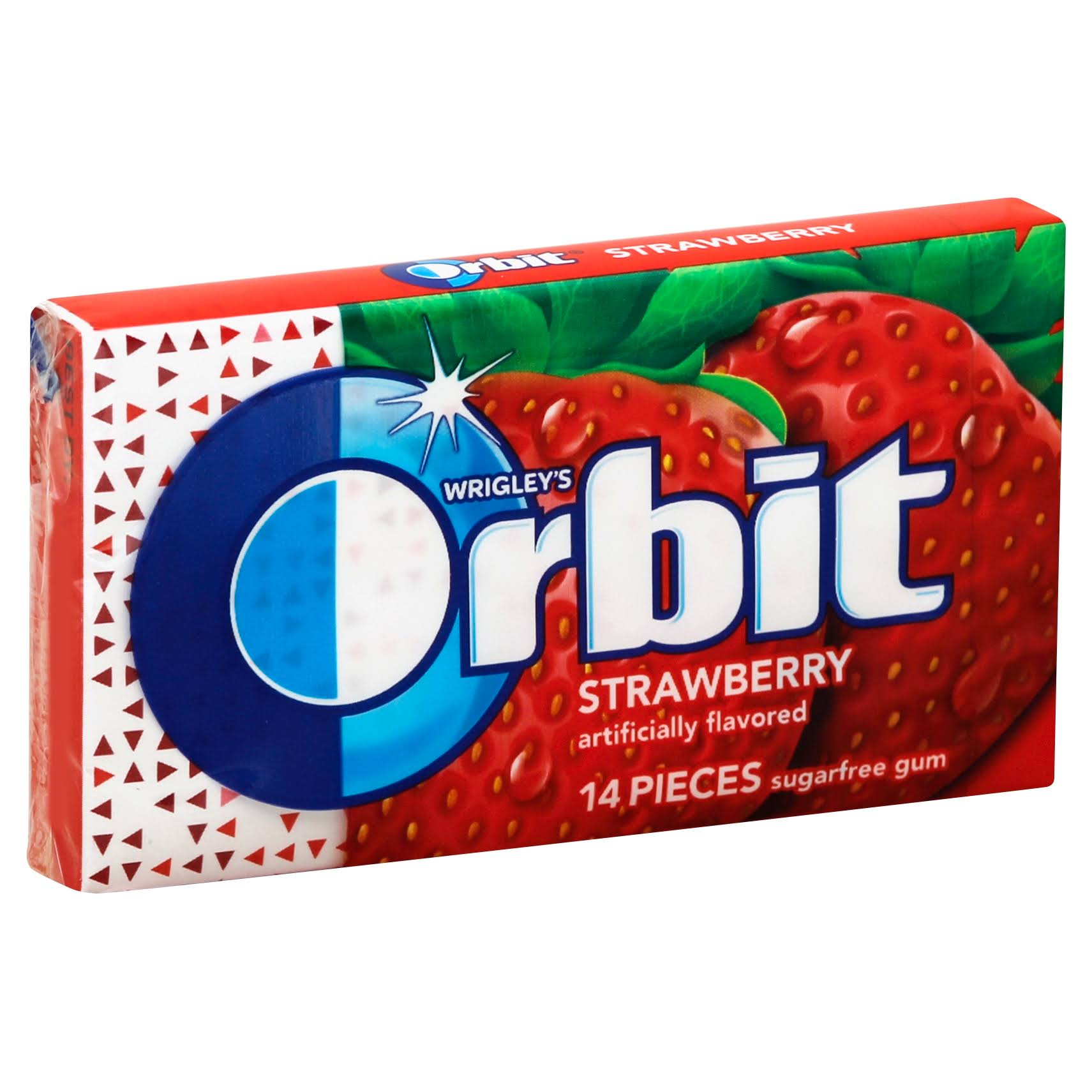 Orbit Gum, Sugarfree, Strawberry - 14 pieces