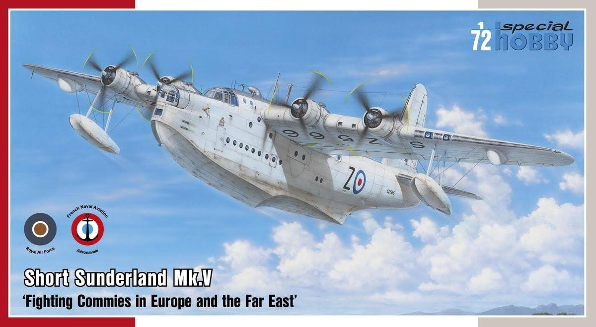 Special Hobby 72162 Short Sunderland Mk.V Flying Boat - 1/72 Scale
