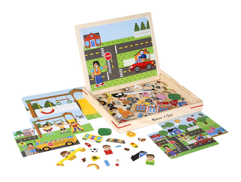 Melissa & Doug - Wooden Magnetic Matching Picture Game
