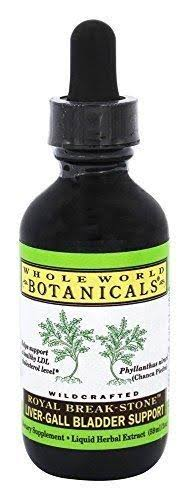 Whole World Botanicals Royal Break Stone Liver Gall Bladder Support - 2oz
