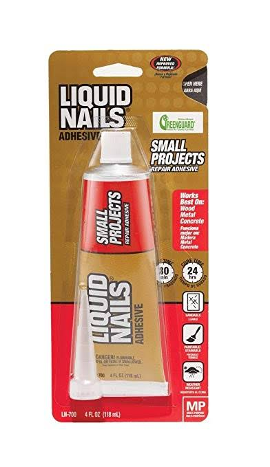 Liquid Nails Small Projects Adhesive