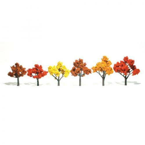 Woodland Scenics Assembled Tree Fall Mix 3-5