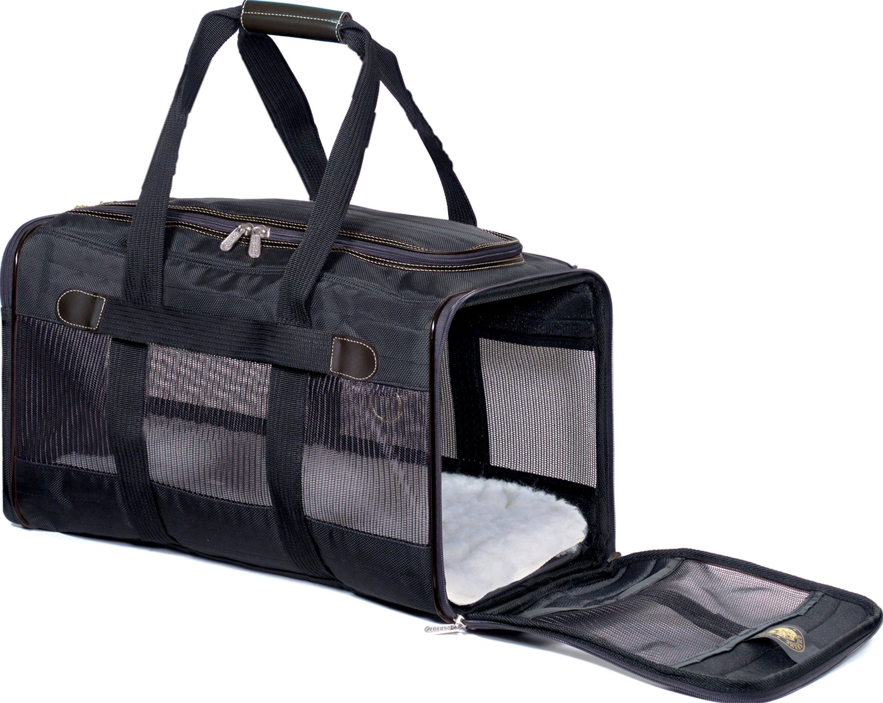 Sherpa Original Deluxe Pet Carrier - Large, Black