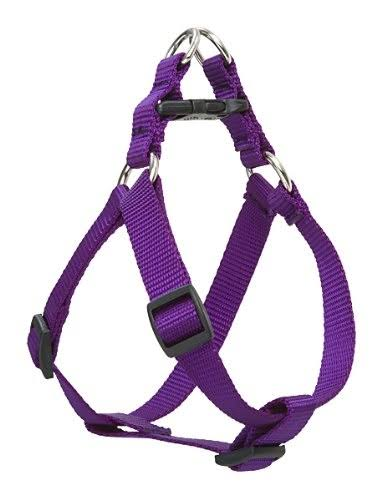 "Lupine Step in Dog Harness - 3/4"", Purple"