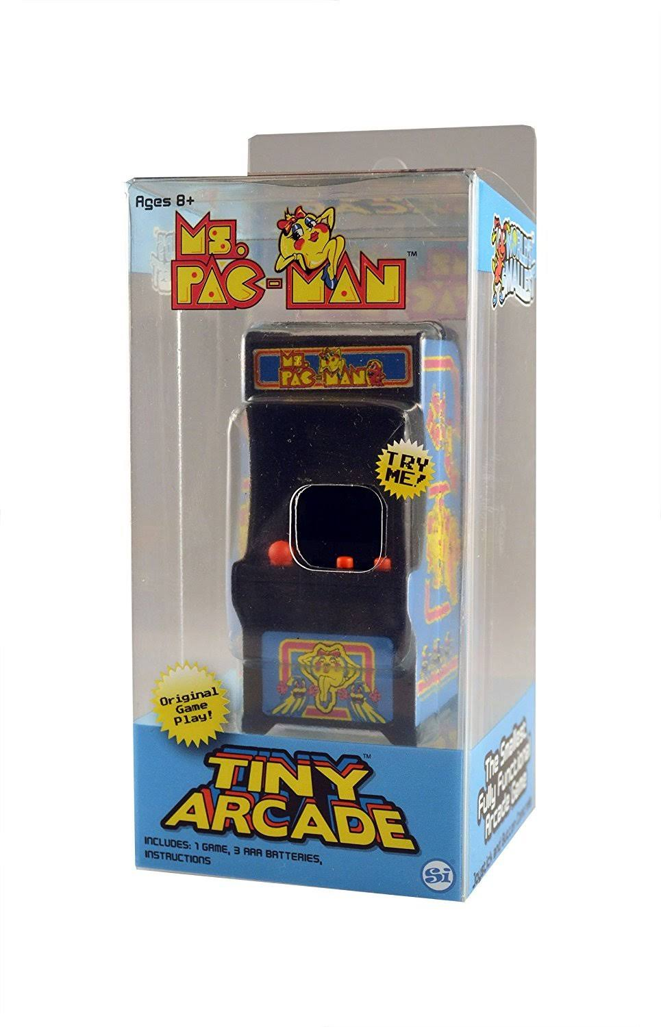 Tiny Arcade 375 Ms. Pac-Man Miniature Arcade Game