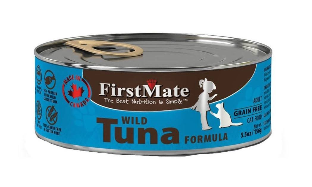 FirstMate Tuna Grain Free Canned Cat Food 5.5oz Can