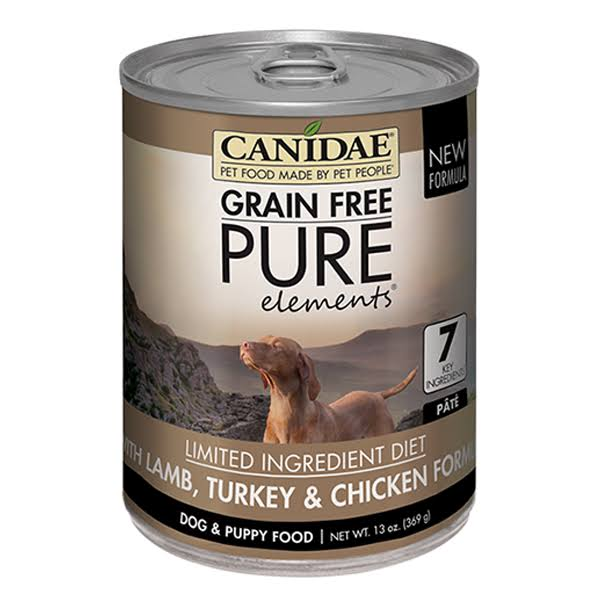 Canidae Grain Free Pure Elements Dog Food - Lamb Turkey And Chicken