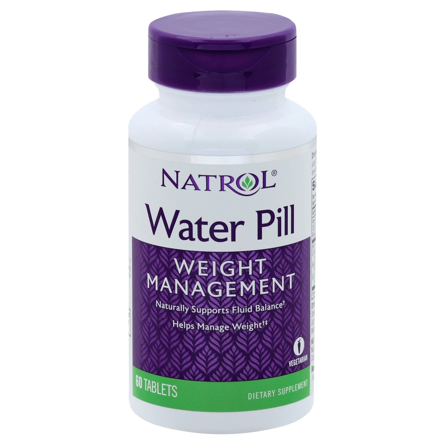 Natrol Water Pill Supplement - 60 Tablets