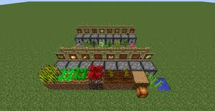 Minecraft Automatic Pumpkin Farm by More Dispenser Uses Auto Wheat Farms Auto Dying And More