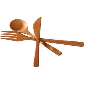 Totally Bamboo S3785 Flatware Set - 3pcs