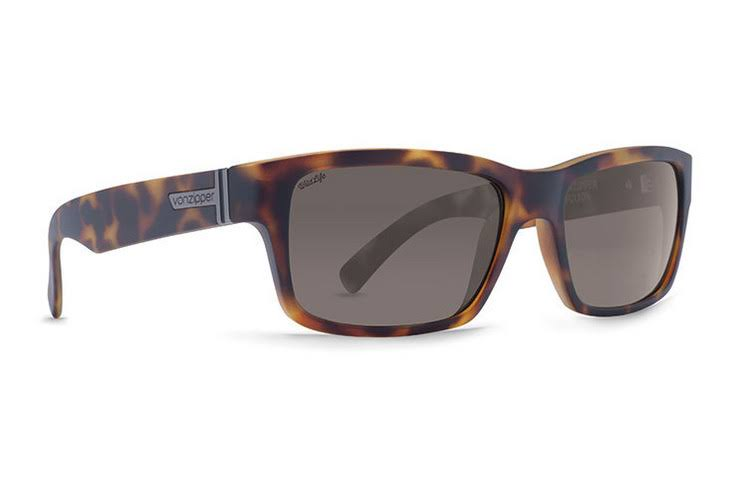 VonZipper Sunglasses - Fulton Polarized - Tortoise Satin/Vintage Grey