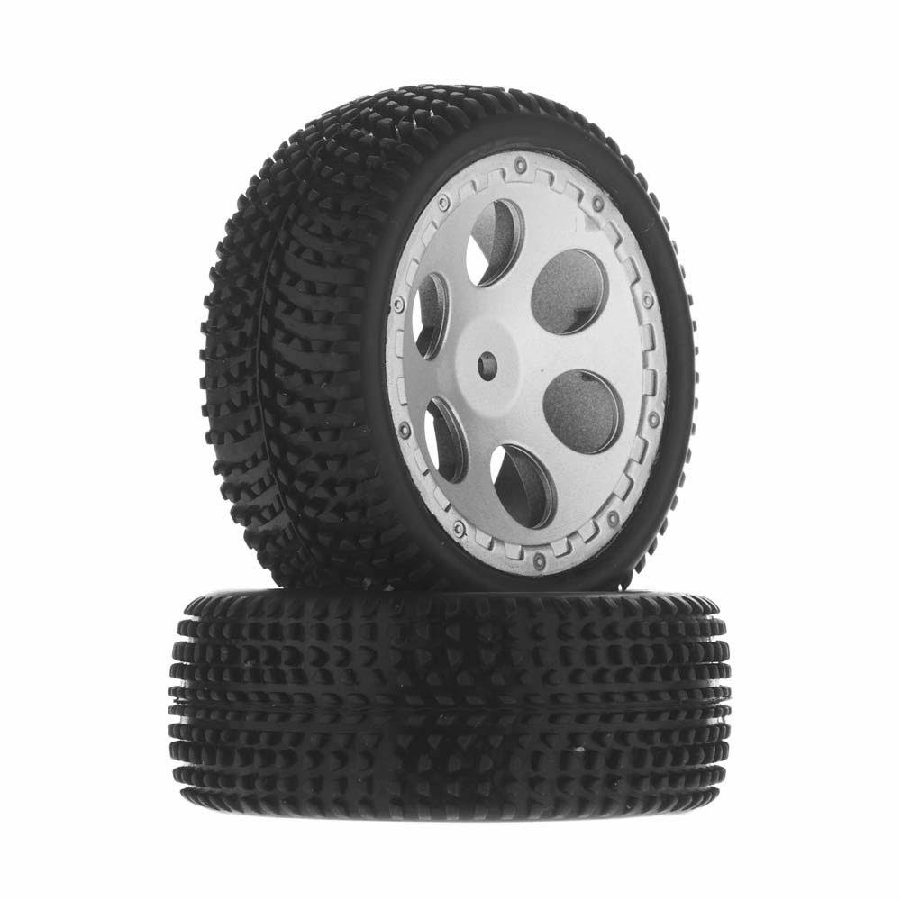 Dromida Didc1017 Assembled Wheel Tire - with Foam Insert, BX 4.18, 2ct