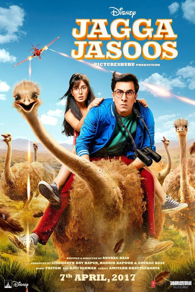 Jagga Jasoos HD Movie Download DVDRip 720p 2017