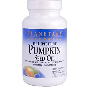 Planetary Herbals Full Spectrum Pumpkin Seed Oil Supplement - 45ct
