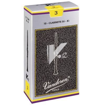 Vandoren CR194 BB Clarinet V.12 Reeds - Strength 4, x10